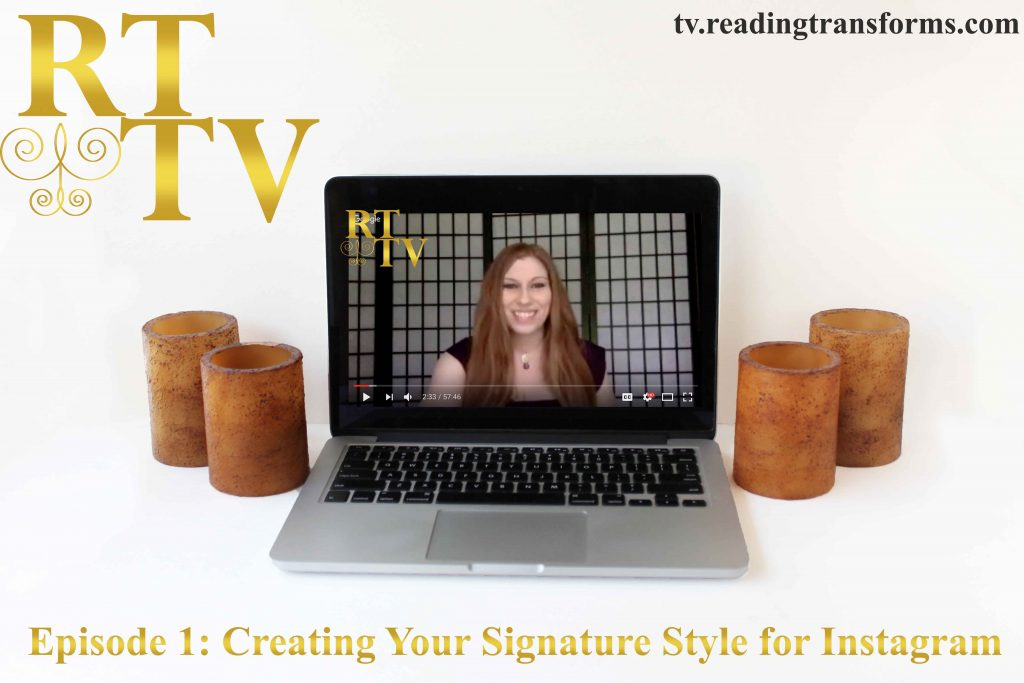 RT TV Episode 1 Creating Your Signature Style for Instagram