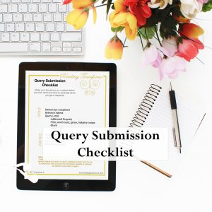 Query Submission Checklist