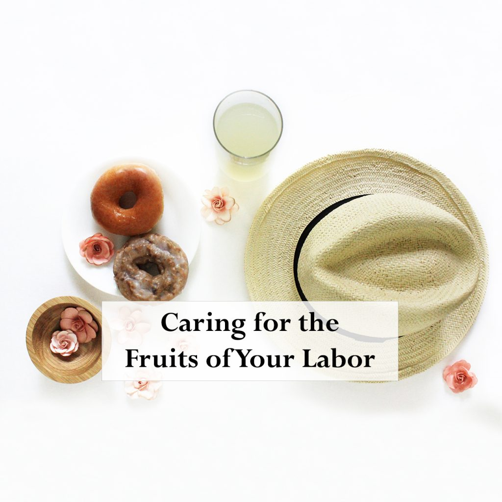 Blog Fruits of your Labor